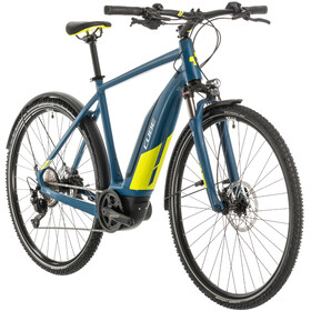 Cube Nature Hybrid EXC 500 Allroad, blue'n'lime